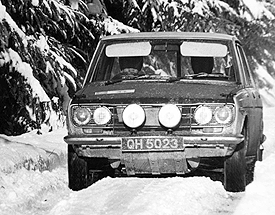 John Sprinzel & Don Barrow 1969 Targa Rusticana Rally Castrol Motoring News Rally Championship Motoring News Championship