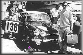 Don Barrow & Ian Hall - Works Sunbeam Tiger - 1965 Alpine Rally
