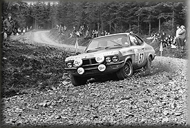 Barrie 'Whizzo' Williams & Don Barrow - DTV Vauxhall Firenza - 1972 Scottish International Rally