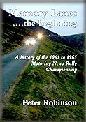 Don Barrow - 1961 - 1965 Motoring News Championship - Memory Lanes 'The Beginning' by Peter Robinson
